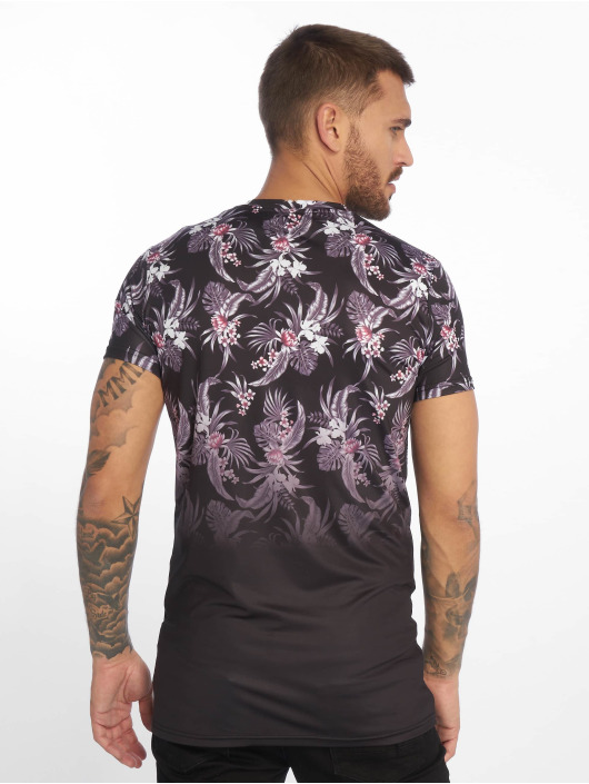 Sixth June T-shirt Flower Tie Dye V2 svart