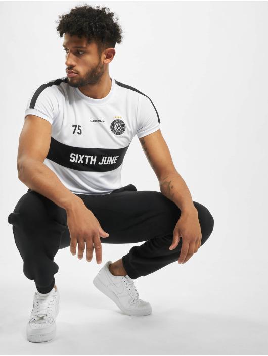 Sixth June T-Shirt Soccer weiß