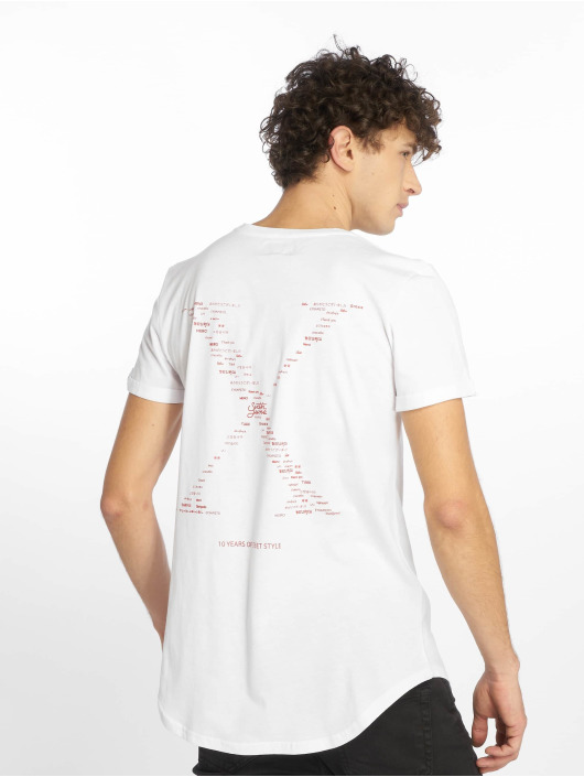 Sixth June T-Shirt Front And Back Print Anniversary white