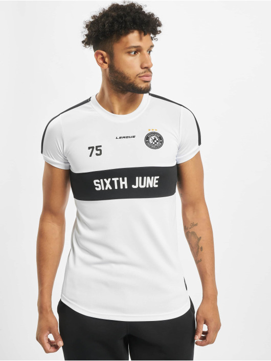 Sixth June T-Shirt Soccer white