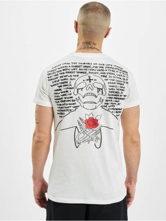 Sixth June T-Shirt Skull white