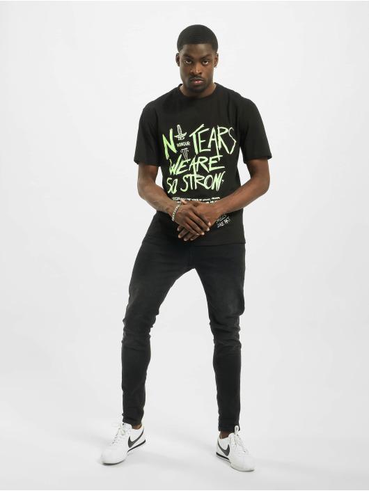 Sixth June t-shirt Fluorescent zwart