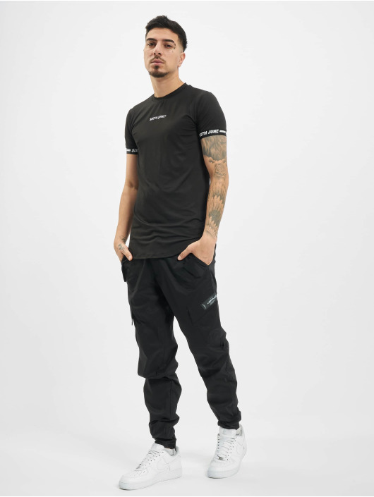 Sixth June t-shirt Signature Sport zwart