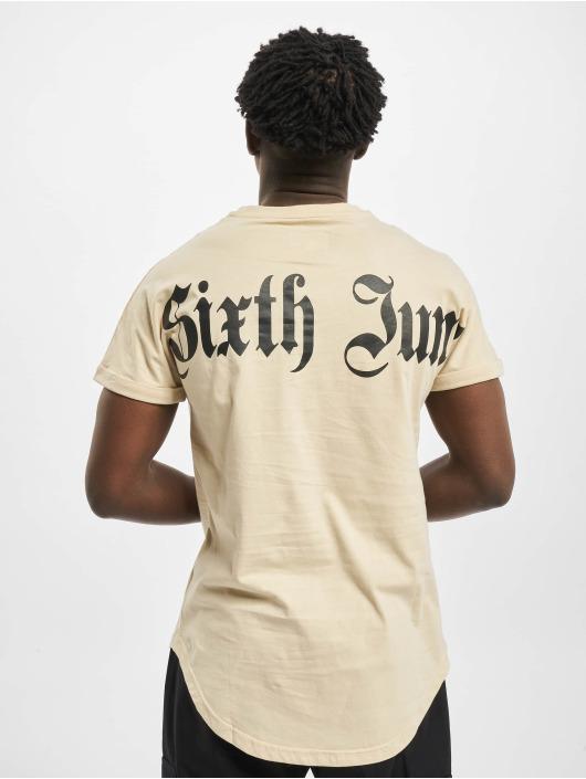 Sixth June T-Shirty Gothic bezowy