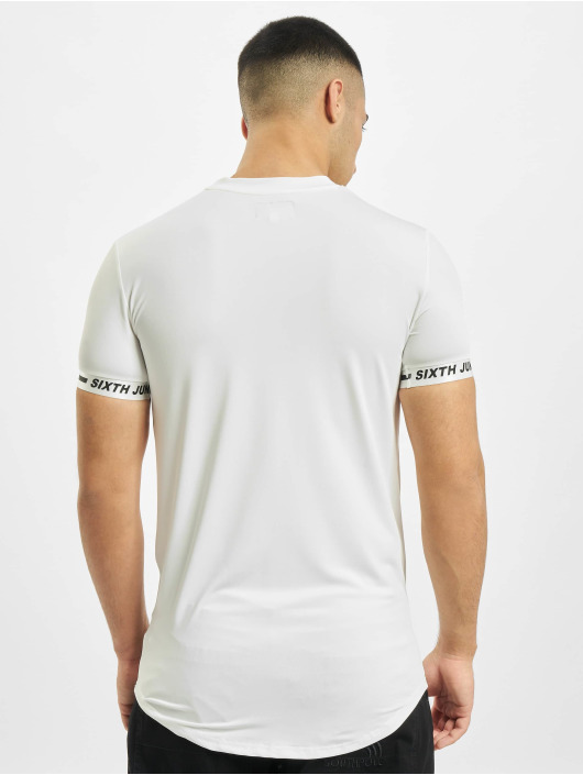 Sixth June T-Shirty Signature Sport bialy