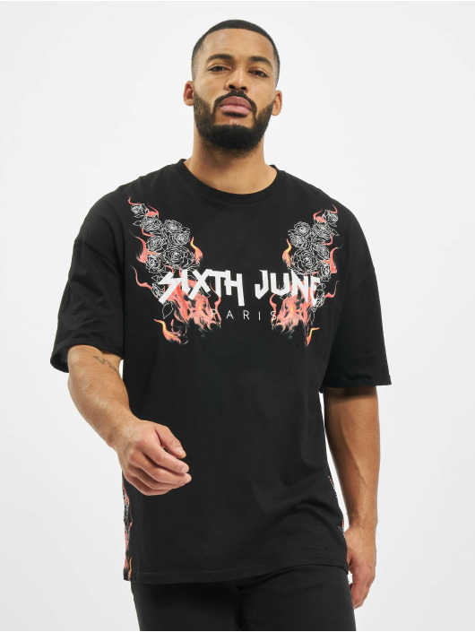 Sixth June T-Shirty Print czarny