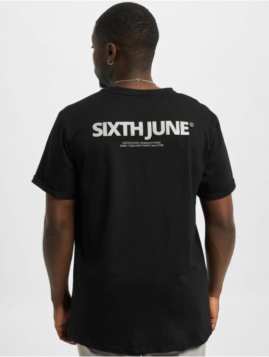 Sixth June T-Shirty Reflective czarny