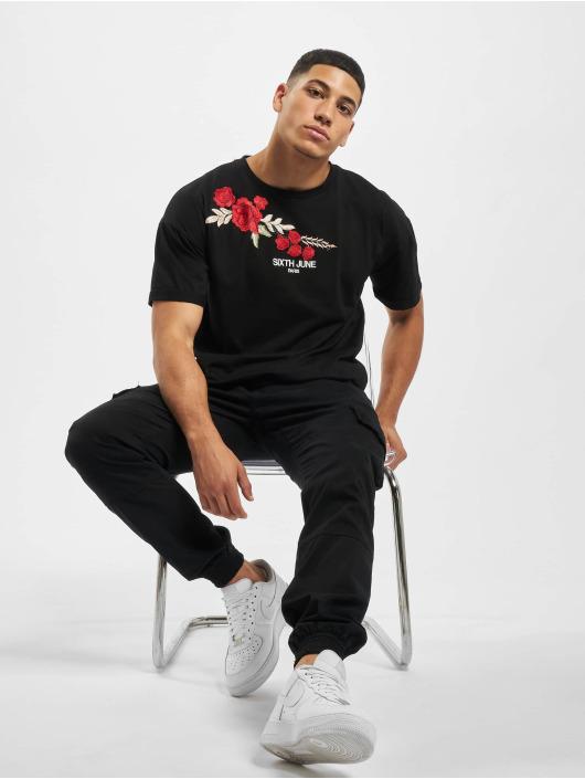 Sixth June T-Shirty Classic Oversize czarny