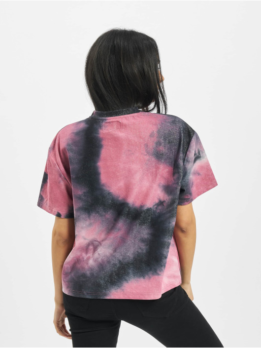Sixth June T-Shirty Tie Dye czarny