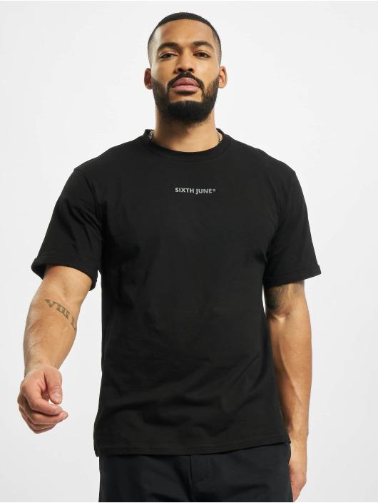 Sixth June T-Shirty Basic Logo czarny