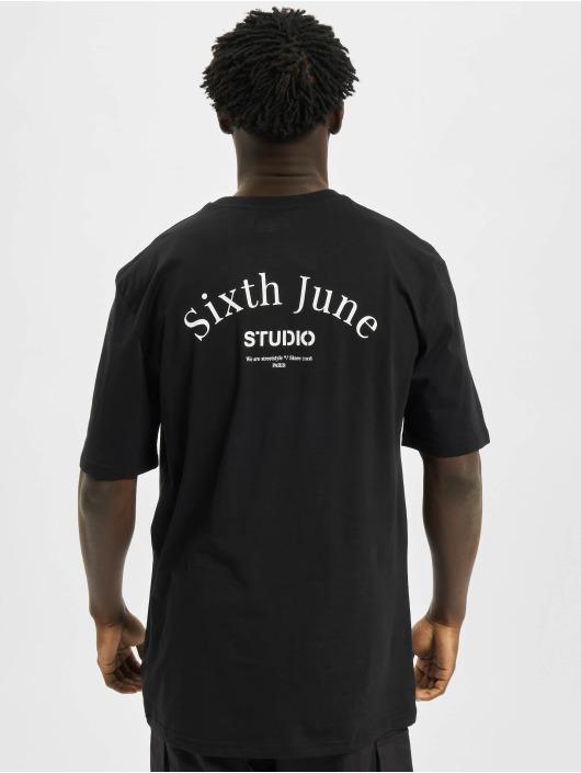 Sixth June T-Shirty Studio czarny