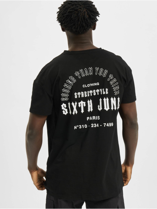 Sixth June T-Shirty Sooner Than You Think czarny