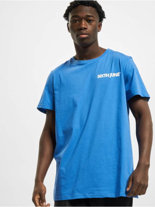 Sixth June T-Shirty Basic Logo niebieski