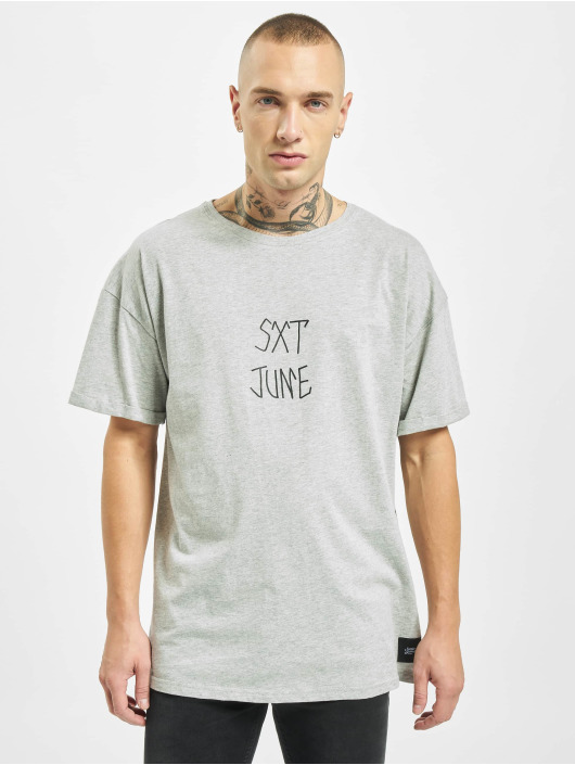 Sixth June T-Shirty Short Sleeve szary