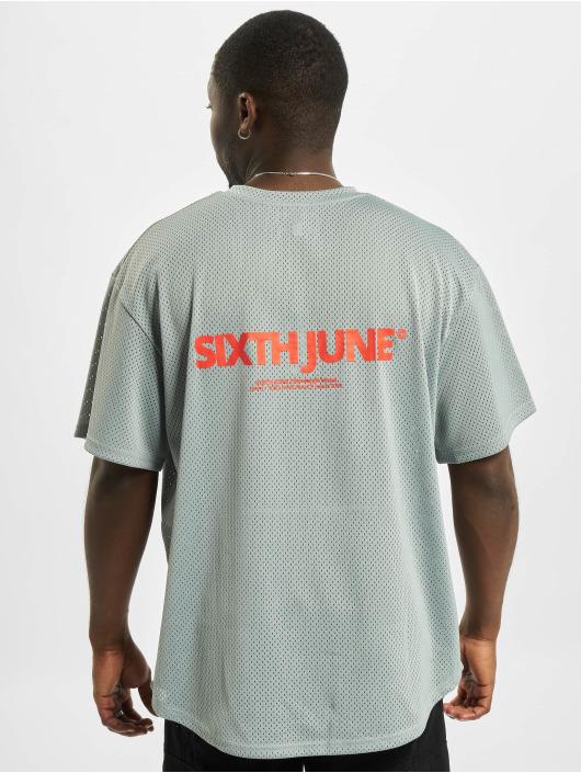 Sixth June T-Shirty Mesh szary