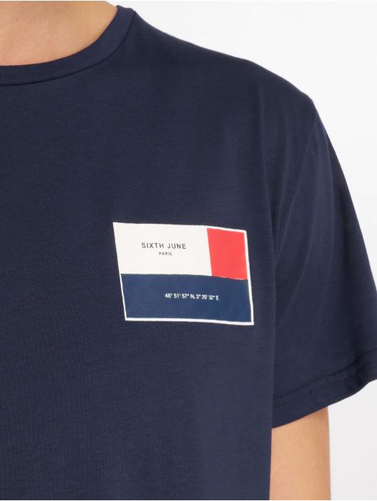 Sixth June T-skjorter America blå