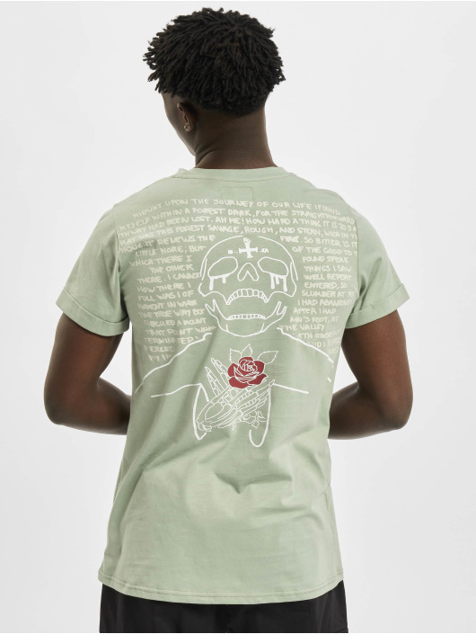 Sixth June T-skjorter Skull grøn