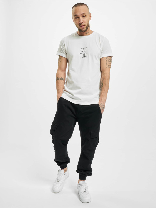 Sixth June T-skjorter Skull hvit