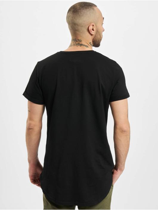 Sixth June T-skjorter Rounded Bottom svart