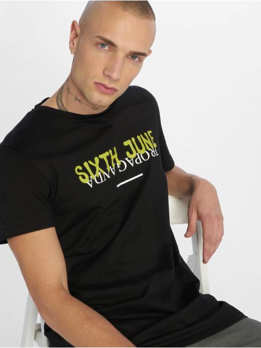 Sixth June T-skjorter Wyoming Propaganda svart