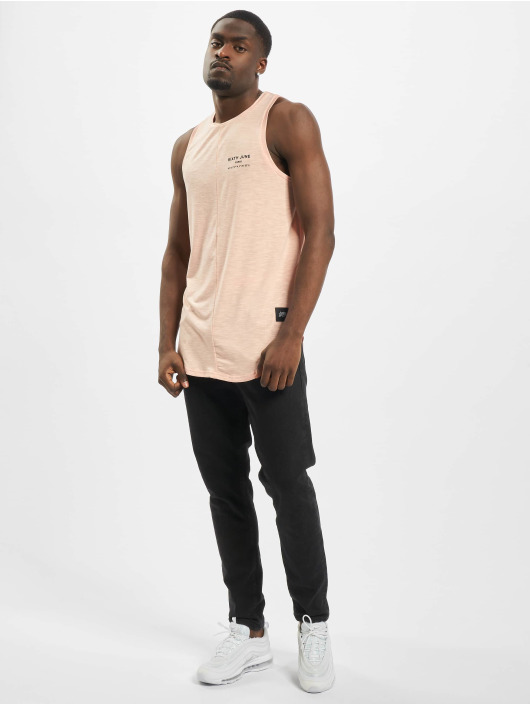 Sixth June Tank Tops Rounded With Gps Print lyserosa