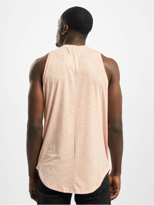 Sixth June Tank Tops Rounded With Gps Print pink