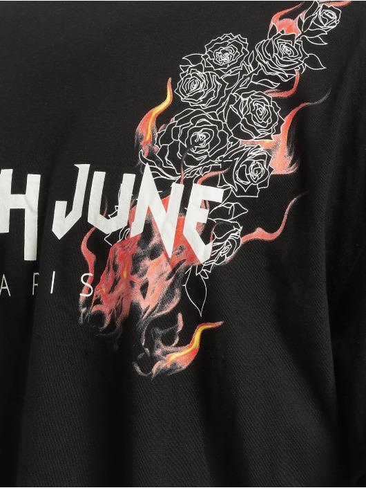 Sixth June Tričká Flame èierna