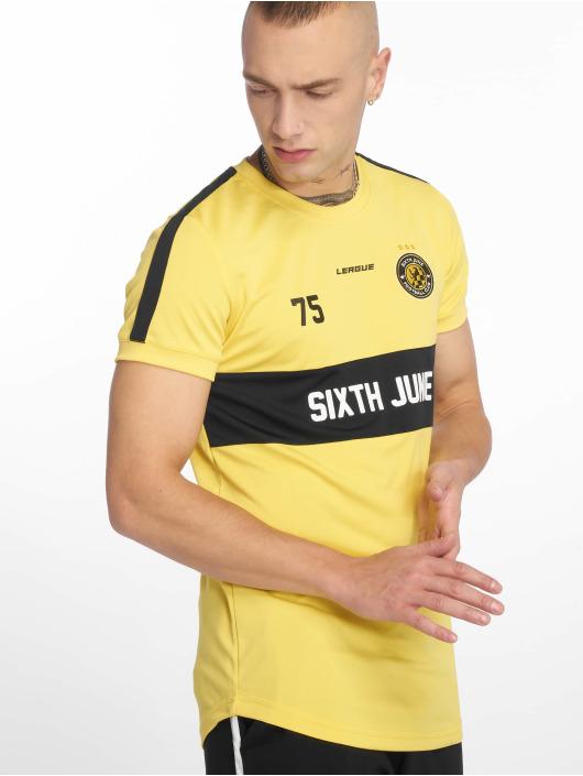 Sixth June Tričká Soccer žltá