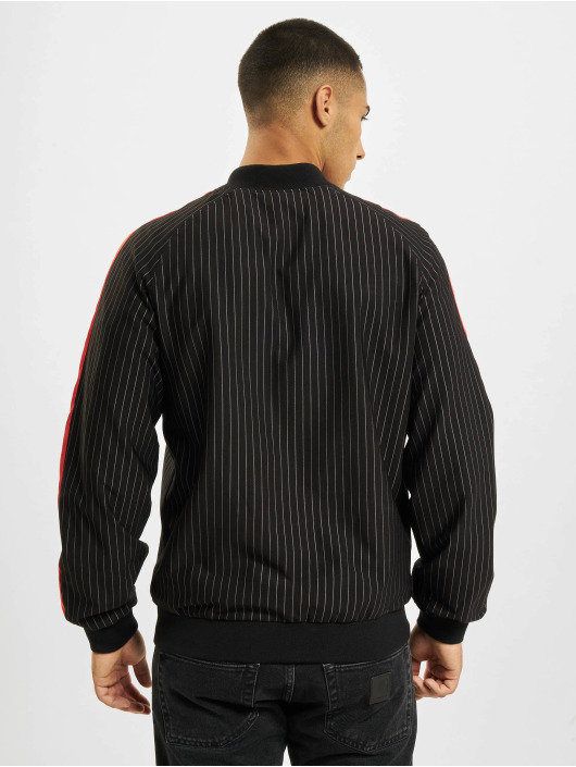 Sixth June Übergangsjacke Stripes Baseball schwarz
