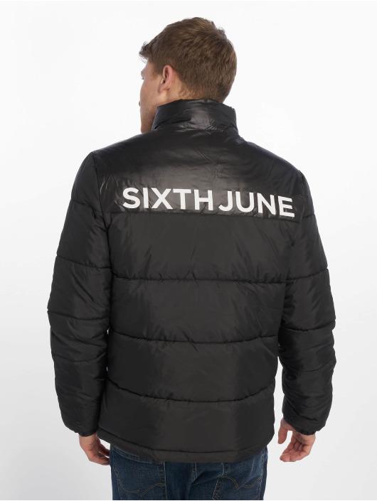 Sixth June Übergangsjacke Bubble schwarz