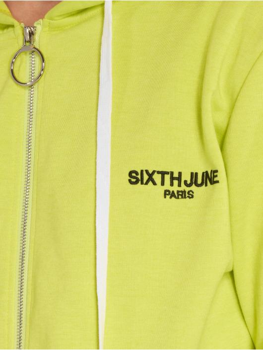 Sixth June Välikausitakit Stripe keltainen