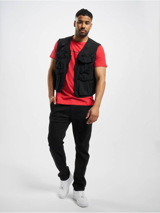 Sixth June Vest Twill Fishing black