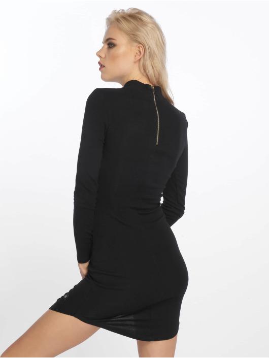 Sixth June Vestido Back Zip negro