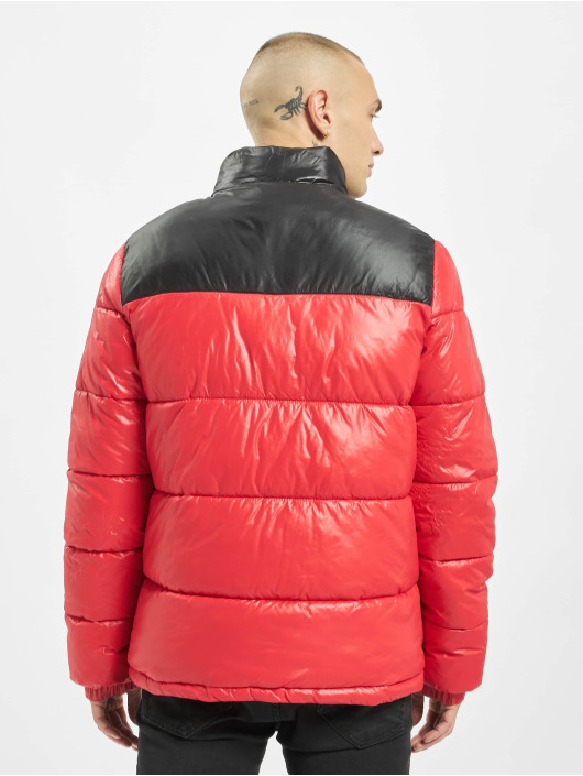 Sixth June Winterjacke Bicolor Vinyl Down rot