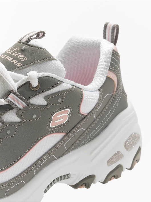 Skechers Sneaker D'Lites Biggest Fan grau