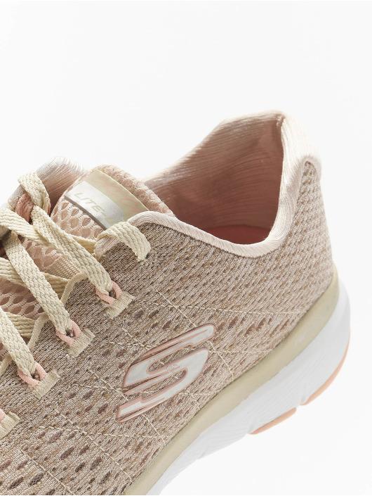 Skechers Sneakers Flex Appeal 3.0 Satellites bezowy