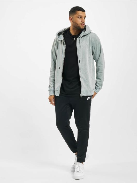 Sky Rebel Hoodies con zip Basic grigio