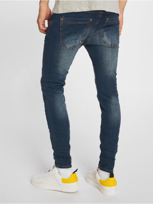 Sky Rebel Jean skinny Stone Washed bleu