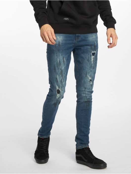 Sky Rebel Jeans slim fit Emil blu