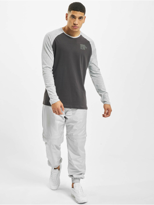Sky Rebel Longsleeve Sports Club gray