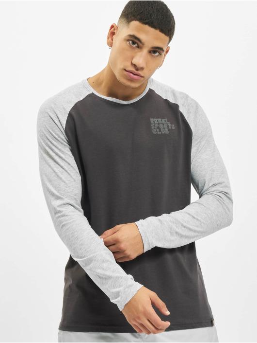 Sky Rebel Maglietta a manica lunga Sports Club grigio