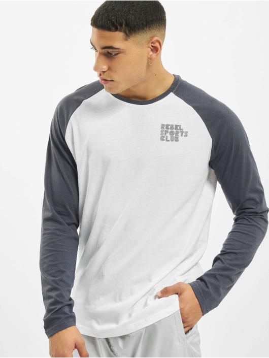 Sky Rebel Pitkähihaiset paidat Sports Club valkoinen