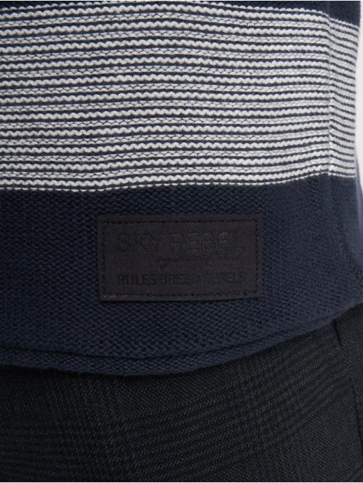 Sky Rebel Pullover Felix blau