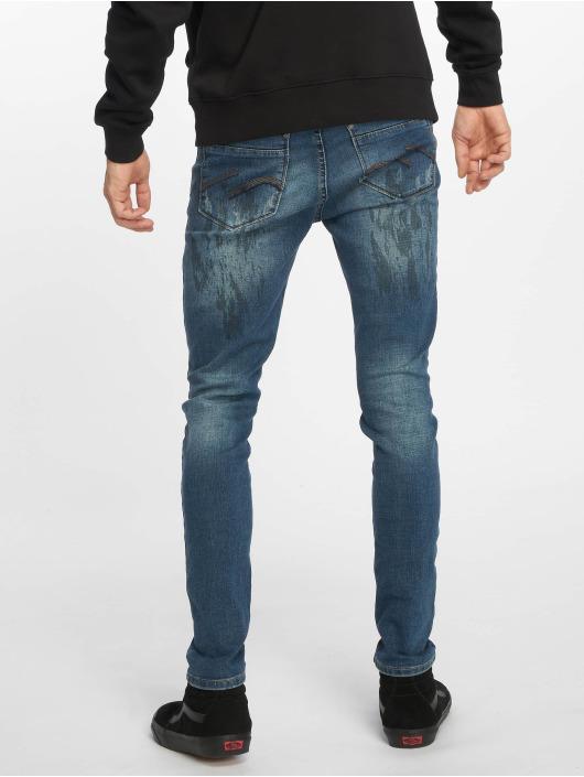 Sky Rebel Skinny jeans Emil blauw