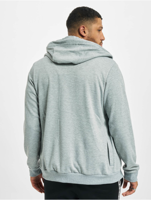 Sky Rebel Sweat capuche zippé Basic gris