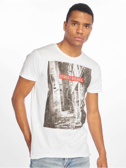 Sky Rebel T-Shirt Loui blanc