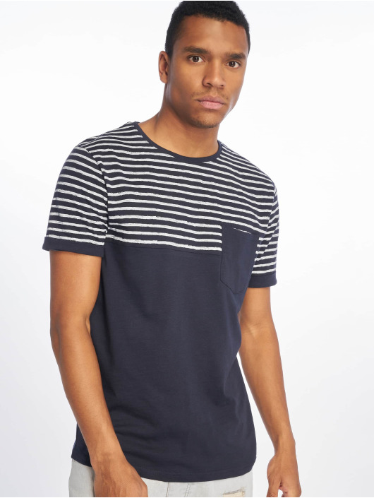 Sky Rebel T-Shirt Hugo blau