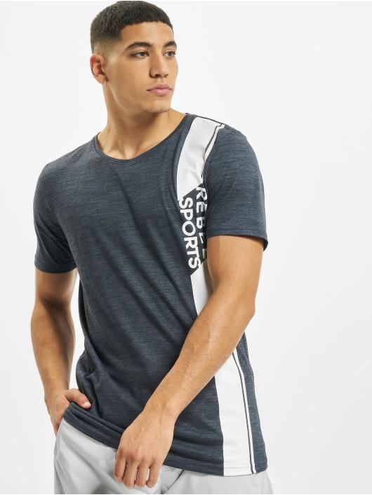 Sky Rebel T-Shirt Sports blau