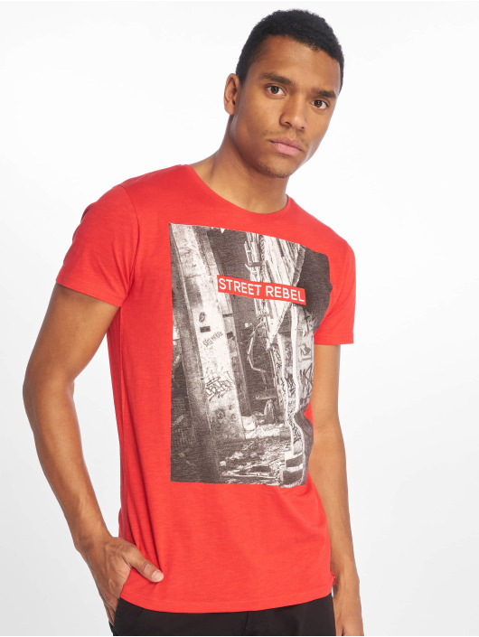 Sky Rebel T-Shirt Loui rouge