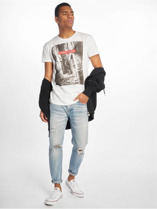 Sky Rebel T-Shirt Loui weiß